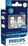 Philips 127994000KX2 X-tremeUltinon LED luz interior para coche W5W T10 4000K 12V, 2 unidades